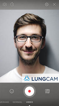 Example of a LUNGCAM video