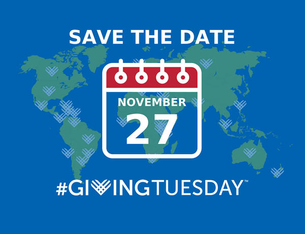 Giving Tuesday - save the date