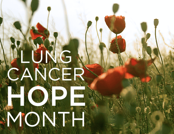 Lung Cancer Hope Month