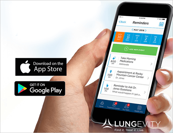 Lung Cancer Navigator app