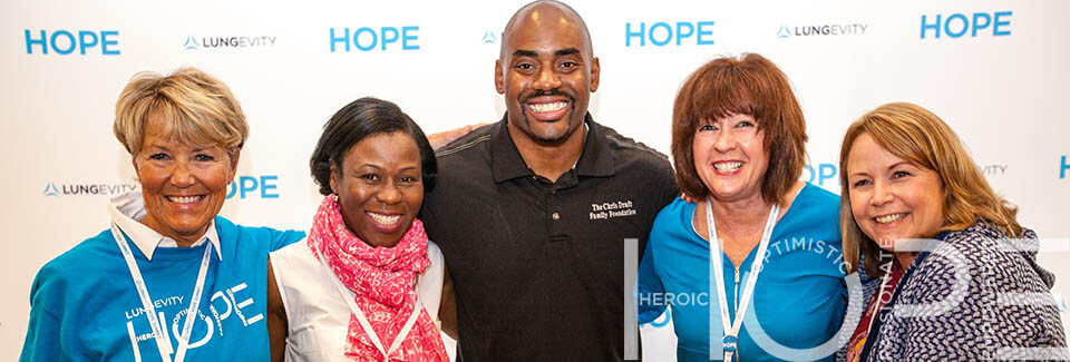 Attendees at LUNGevity's 2016 HOPE Summit