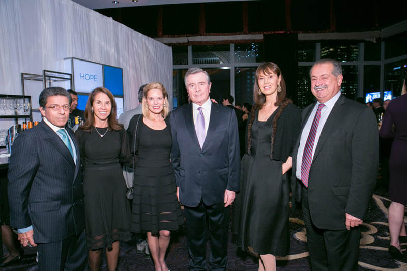 Charles and Mona Kalil, Ann and Paul Stern, Paula and Andrew Liveris