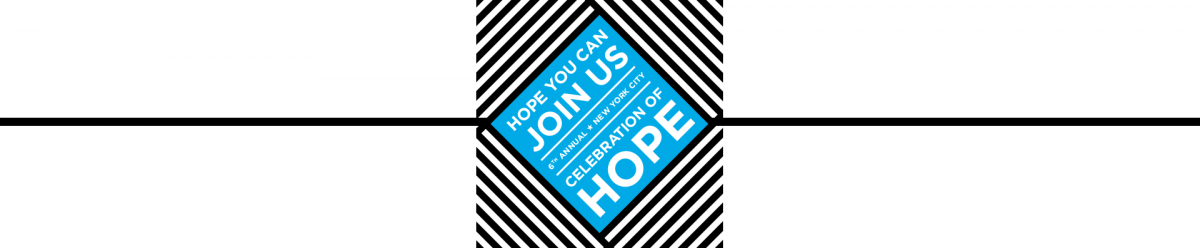 Save the date - Celebration of Hope Gala