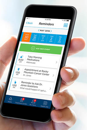LUNGevity's Lung Cancer Navigator mobile app