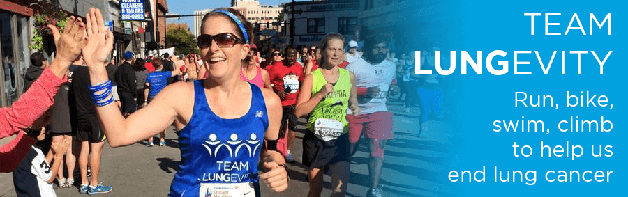 Team LUNGevity: Run, bike, swim, climb to help end lung cancer