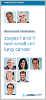 NSCLC stages I-II brochure
