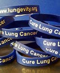 LUNGevity wristbands