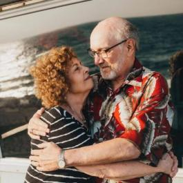 Ed Cutler and his wife Donna