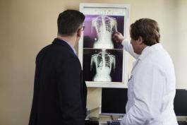 Doctors Reviewing Scan